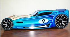 Patut copii HotWheels Blue